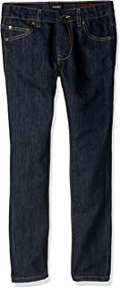 DKNY Boys' Big Greenwich Slim Fit Stretch 5 Pocket Denim Jean