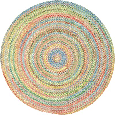 Amazon Com Anji Mountain Amb0398 060r Sayulita Round Rug