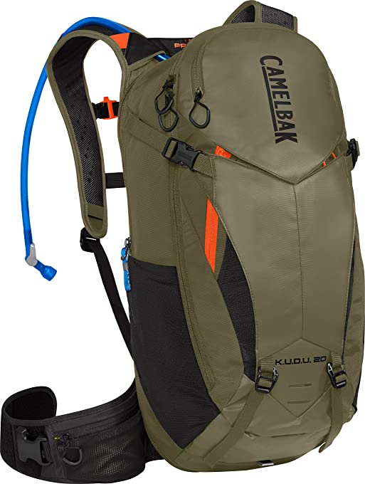 CamelBak K.U.D.U Protector 20 3L Hydration Pack Burnt Olive/Laser Orange