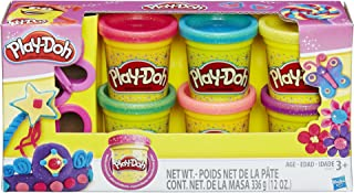 play doh sparkle compound pack with accessories