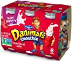 Dannon Danimals Smoothies Yogurt Drink (Rockin' Raspberry), 3.1 fl. oz. 6-pack