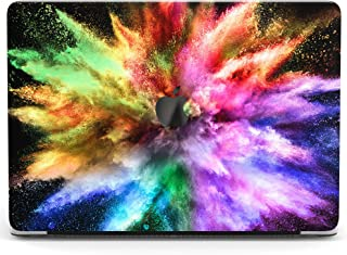 Wonder Wild Case for MacBook Air 13 inch Pro 15 2019 2018 Retina 12 11 Apple Hard Mac Protective Cover Touch Bar 2017 2016 2015 Plastic Laptop Print Colorful Explosion Abstract Paint Blue Splash Holi