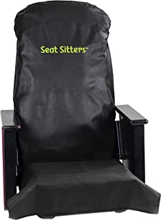 Seat Sitters Airplane and Theater Seat Cover and Tray Table Kit - Adult Edition