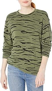 Monrow Women's Tiger Boyfriend Sweatshirt