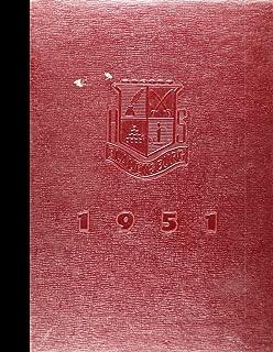 (Reprint) 1951 Yearbook: Bladensburg High School, Bladensburg, Maryland
