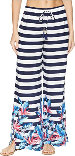Palms Paradise Beach Pant Cover-Up