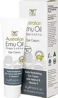 Y-Not Natural Anti Aging Eye Cream with Australian Emu, Retinol, and Vitamin E