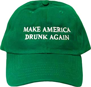 ea15f03a4f6 Make America Drunk Again Green Hat - Funny Dad Hat for St. Patrick s
