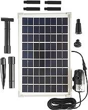 solar powered aerator kit