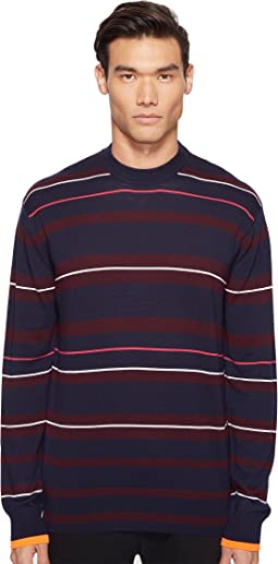 McQ - Fine Stripe Sweater