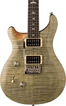 PRS Paul Reed Smith SE Custom 24 Left-Handed Electric Guitar with Gig Bag, Trampas Green