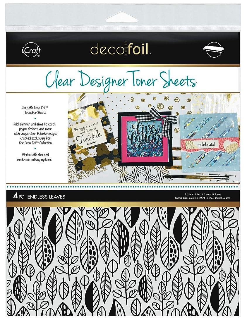 iCraft Deco Foil Clear Designer Toner Sheets 8.5