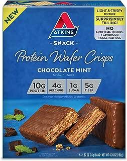 Best atkins mint chocolate bars Reviews