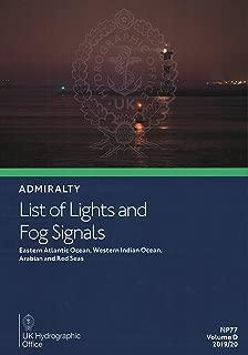 Admiralty List of Lights & Fog Signals: Volume D: Eastern Atlantic Ocean, Western Indian Ocean and Arabian Red Sea 2019/2020 Edition