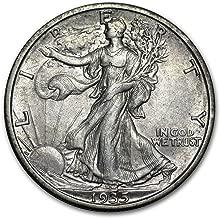 1935 S Walking Liberty Half Dollar XF Half Dollar Extremely Fine
