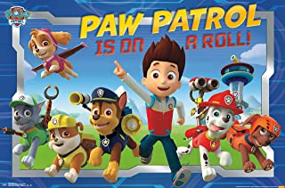 Trends International Nickelodeon Paw Patrol Crew Wall Poster 22.375