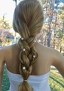 Pearl Rhinestone Hair Pins, Wedding Bridal Hair Jewelry