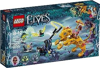 LEGOエルブスアザーリとファイアーライオン捕獲41192組み立てキット(360ピース)。