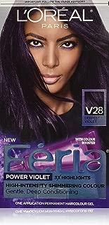 midnight violet hair