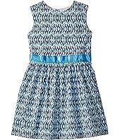 Blue and Aqua Garden Party Dress (Toddler/Little Kids/Big Kids)