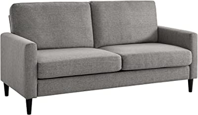 Amazon.com: Tidyard Modern Loveseat, 2 Seater Sofa Futon ...