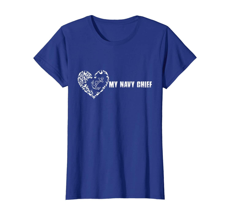 Key Heart My Navy Chief T-Shirt
