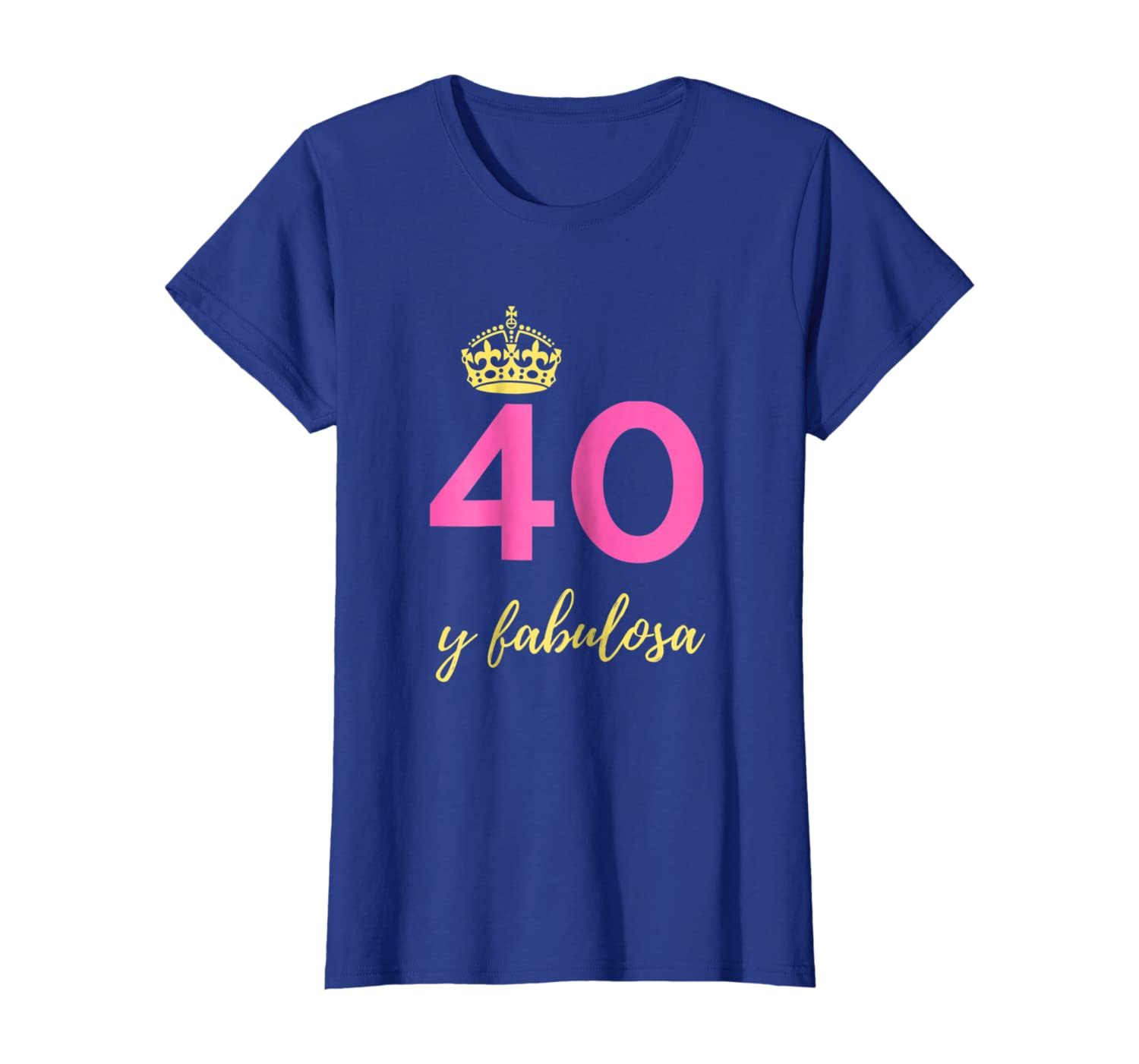 Amazon.com: Womens Regalos para mujeres de 40 anos - Playera ...