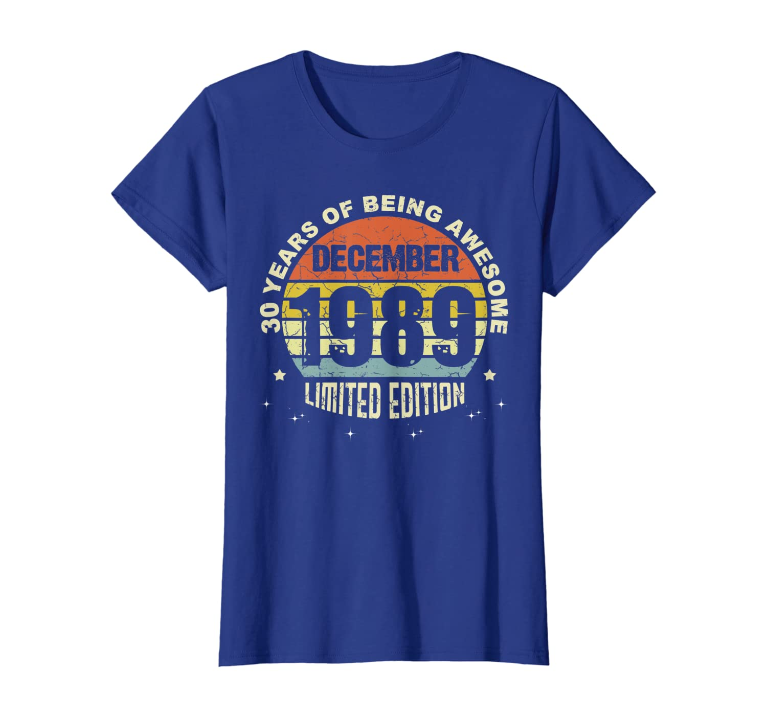 30 Years old, Made in December 1989 30th Birthday T-Shirt