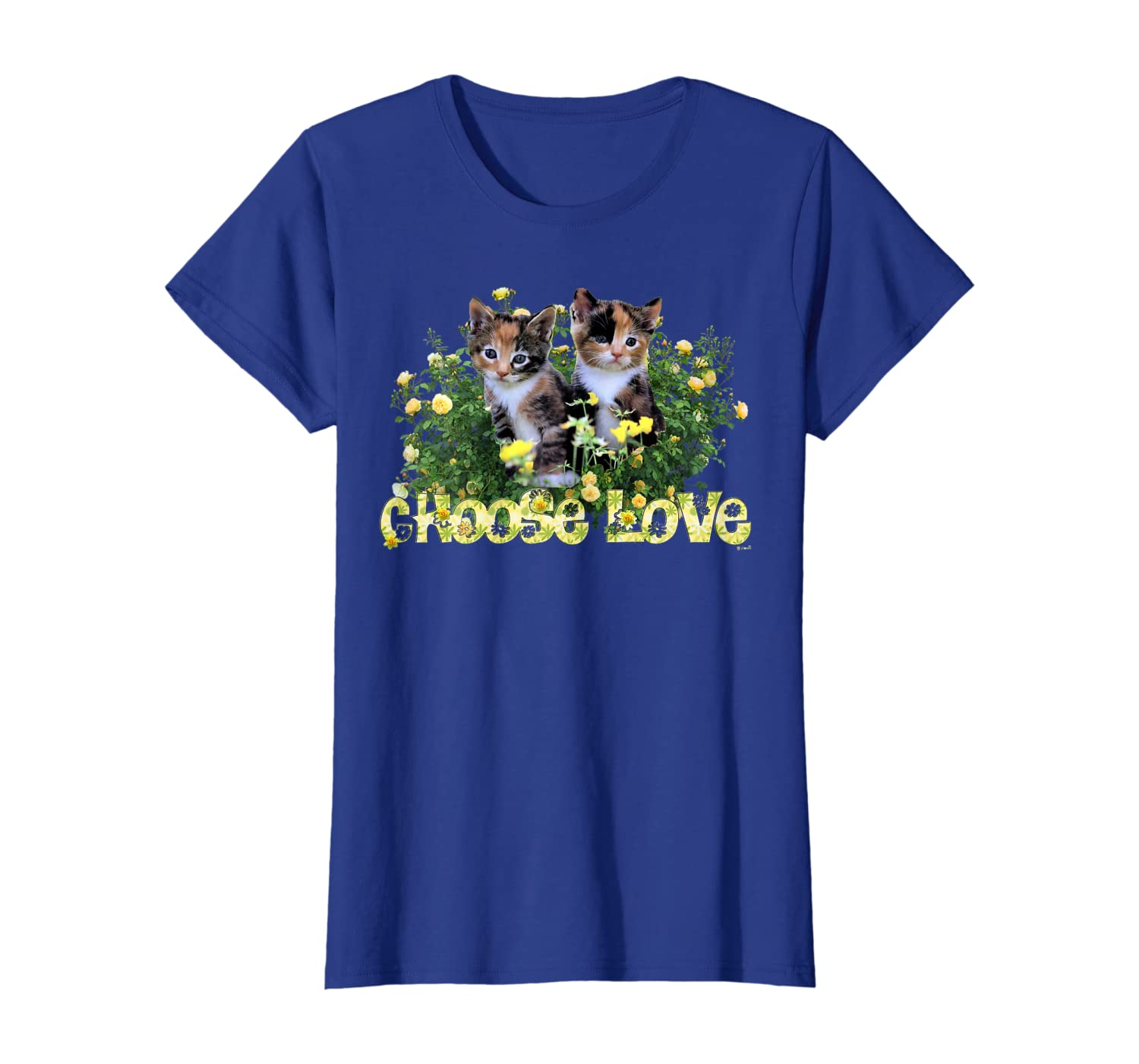 Calico Cats In The Roses By Bonnie Vent Shirts