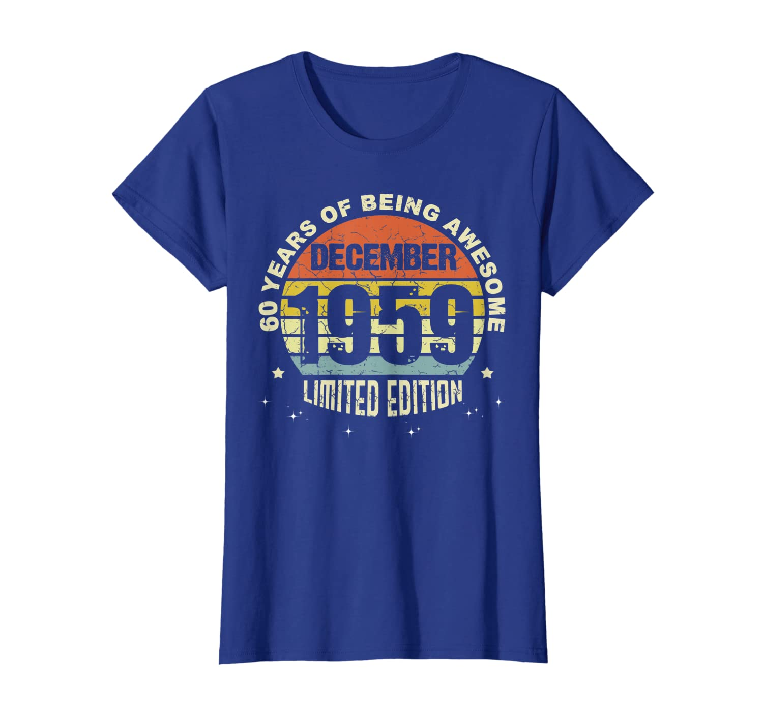 60 Years old, Made in December 1959 60th Birthday T-Shirt