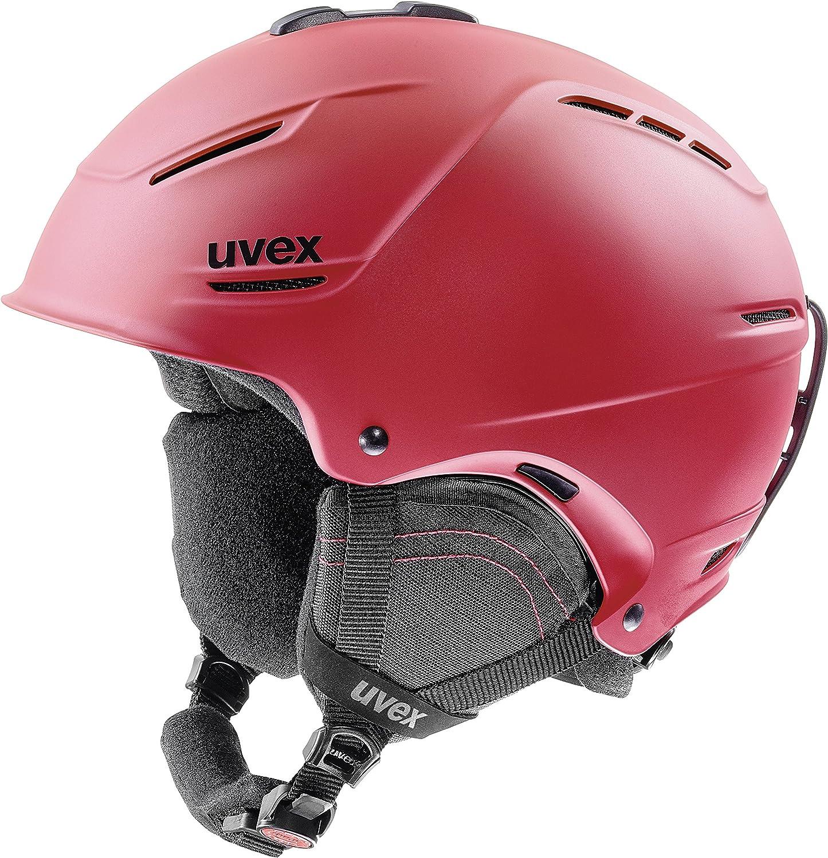 Uvex P1us 2.0 Ski Helmet Large Red Mat