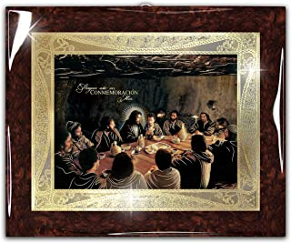 "Framed Last Supper Jesus Christ Artediseño (22""x18"") - Religious Wall Art Print Poster"