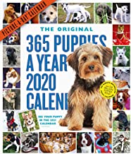 365 Puppies-a-Year Picture-a-Day 2020 Calendar
