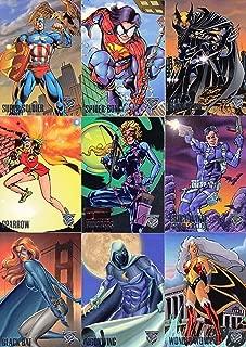 amalgam comics trading cards