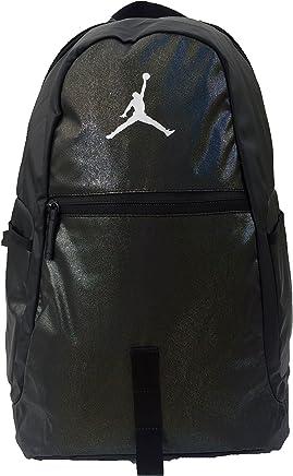 ab9fc18b703 Nike Michael Jordan Air Jumpman Backpack Bookbag, BLACK/SILVER LAPTOP  STORAGE