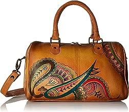 leather paisley handbags