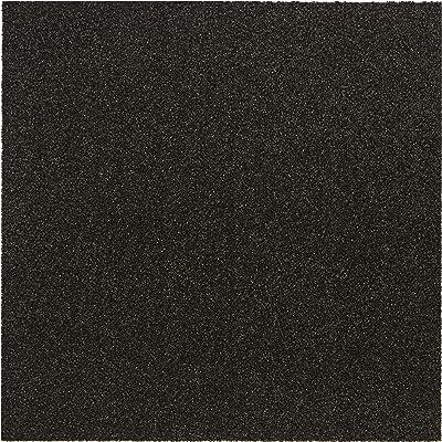 タイルカーペット nittan(ニッタン) ホームタイル 吸着・多機能 8枚セット 50×50cm セピア HT306