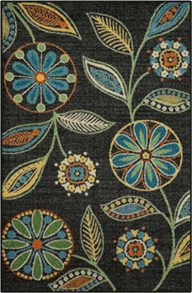 Maples Rugs Kitchen Rug Reggie Artwork Collection 2 5 X 4 Non Skid Small Accent Throw Rugs Made In USA For Entryway And Bedroom 2 6 X 3 10