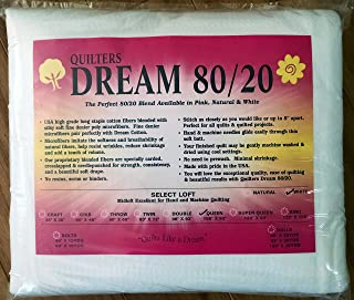 Quilter's Dream 80/20, White, Select Loft Batting - Queen Size 108