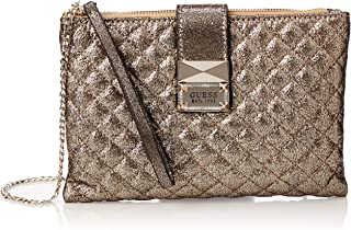 Guess Womens Cross-Body Handbag, Gold - SG767569