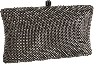 Whiting & Davis Crystal Pillow Minaudiere