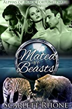Mated by Beasts: (Alphas of Black Fortune: Part 4) BBW Werebear Shifter Menage