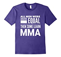 All Learn Mma Mixed Martial Arts Statet Student Gift Shirts Purple