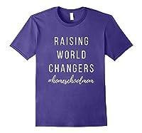 World Changer Shirts Purple