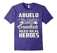 365 Abuelo Funny Grandpa Grandfather Gift Shirts Purple