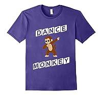 Dance Monkey T-shirt Purple