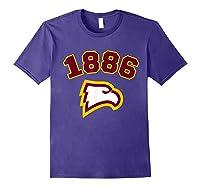 Winthrop 1886 University Apparel Shirts Purple