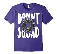 Donut Squad Cool Donut Lover Doughnut Gift Shirts Purple