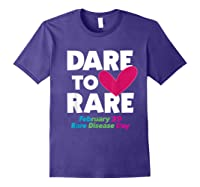 Dare To Love Rare Disease Day 2020 Shirts Purple