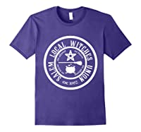 Salem Local Witches Union Est 1692 Halloween Shirts Purple